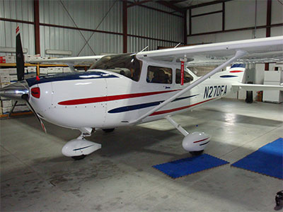 N270FA 2003 Cessna 182T Ext #1 NW