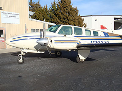 N2027D '79 58 Baron Ext NW