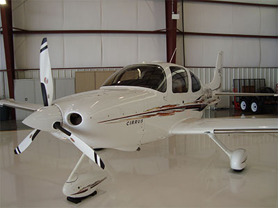 N782CD '05 Cirrus Ext NW